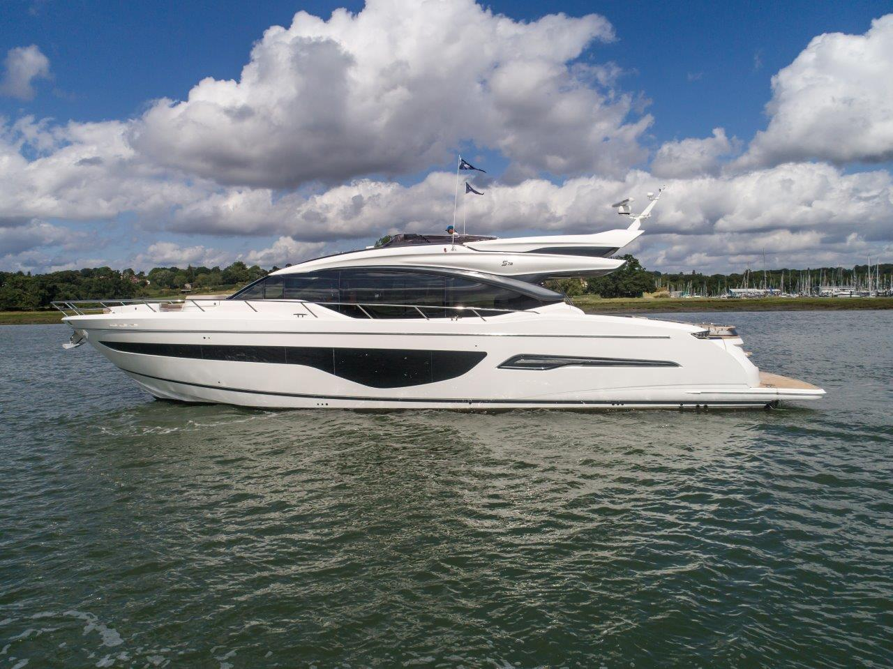 Princess S78 Immediate Delivery Princess Motor Yacht Sales